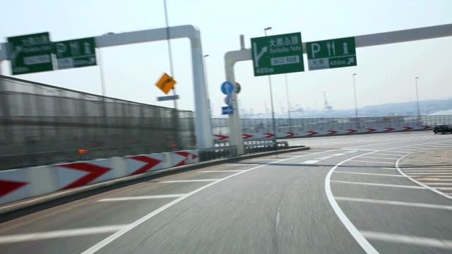 Fahren Sie auf der Autobahn