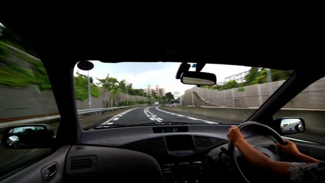 driving on the highway - plusphoto stock videos & royalty-free footage