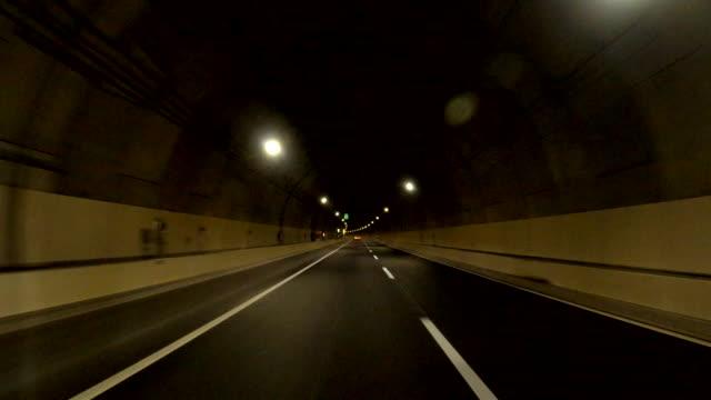 driving on the metropolitan expressway | bulk 10/20 | route k7 (yokohama north line) - moving process plate stock videos & royalty-free footage