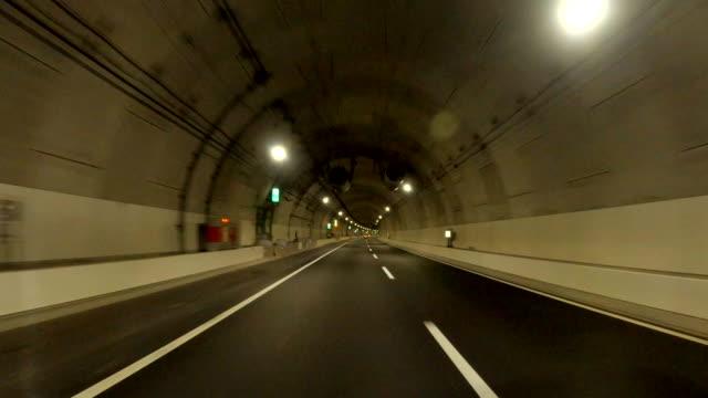 driving on the metropolitan expressway | bulk 6/20 | route k7 (yokohama north line) - moving process plate stock videos & royalty-free footage
