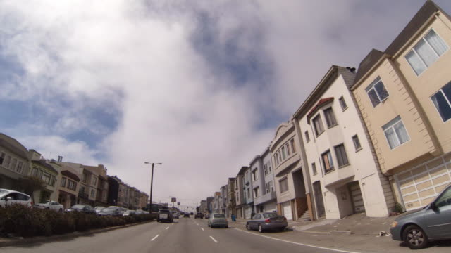 driving on the pch through san francisco - avenue stock videos & royalty-free footage