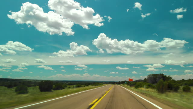 pov driving open road - land vehicle stock videos & royalty-free footage