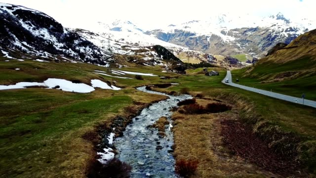 driving over the julier pass - panoramic stock videos & royalty-free footage