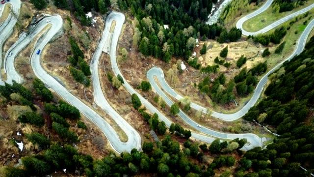 driving over the maloja pass
