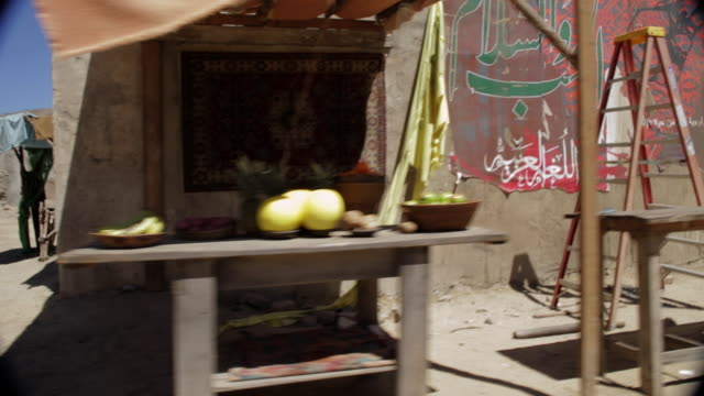 pov driving past adobe structures in santa clarita / california, united states - santa clarita stock videos & royalty-free footage