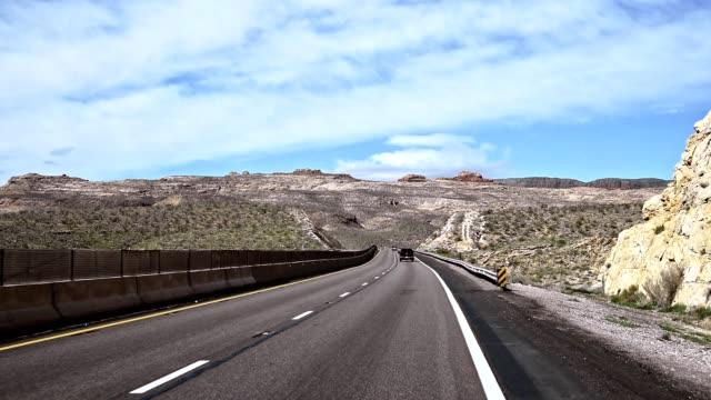 Fahrweise vom Auto in arizona