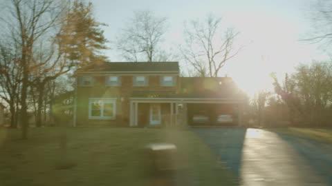 vidéos et rushes de côté studio fond processus plaque pov chroma key série de conduite - ohio