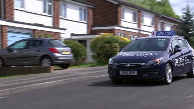 driving test to be updated to include ability to use sat nav driving test to be updated to include ability to use sat nav england learner driver at... - driving test stock videos and b-roll footage