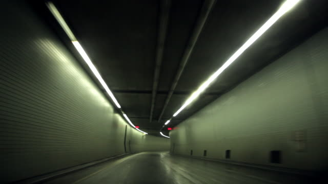Driving the highway in a tunnel