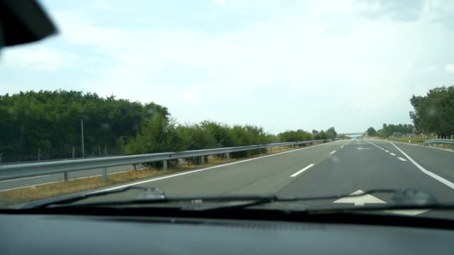 driving the highway - austria stock videos & royalty-free footage