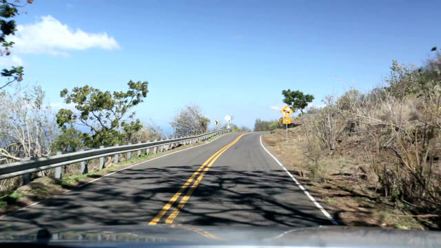 Driving the Pi'ilani Highway