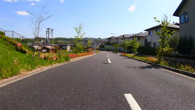 driving through a residential area. - plusphoto stock videos & royalty-free footage