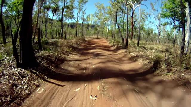 NTSC: Driving Through Australian Bush Land