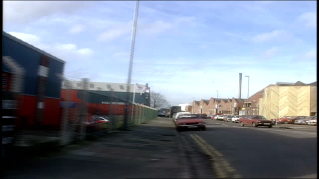of driving through birmingham, england - car point of view stock videos & royalty-free footage