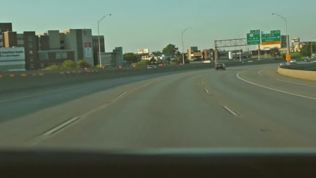 Driving through Cedar Rapids, Iowa