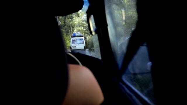 driving through forest of fraser island - car rental stock videos and b-roll footage