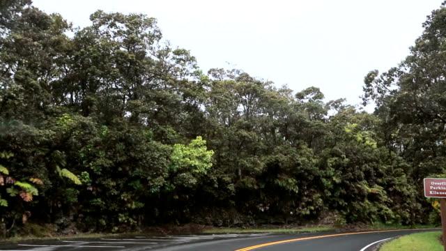 Driving through Hawaii