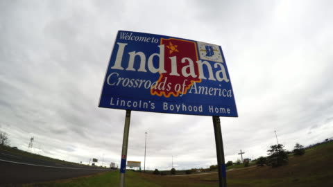 driving through indianapolis - indiana stock videos & royalty-free footage