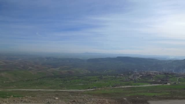 driving through morocco in christmas period - panorama viewing from cars window - pjphoto69 stock videos & royalty-free footage