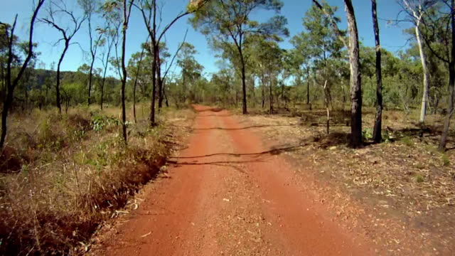 hd: driving through outback - bush stock videos & royalty-free footage