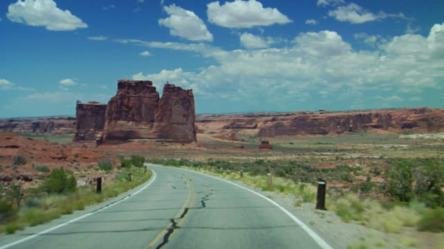 車からの美しい眺めをご覧いただけます