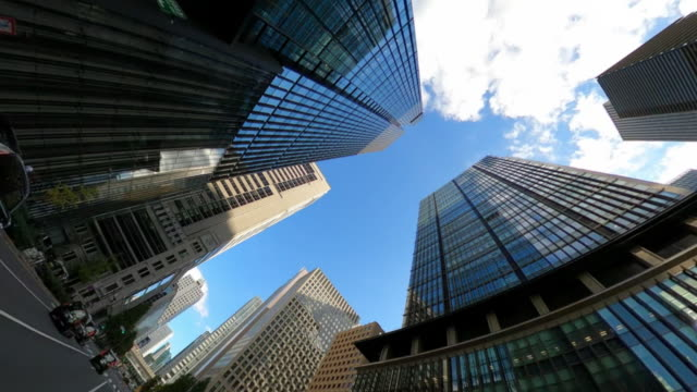 driving through skyscrapers in the city - plusphoto stock videos & royalty-free footage