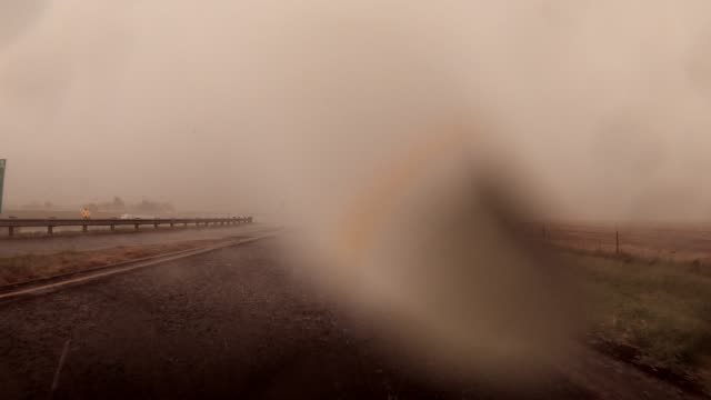 driving through the storm - blowhole stock videos & royalty-free footage