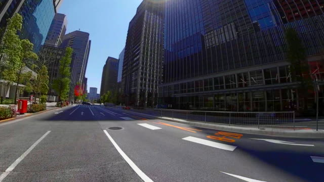 vídeos y material grabado en eventos de stock de conducir a través del tokio - zona urbana