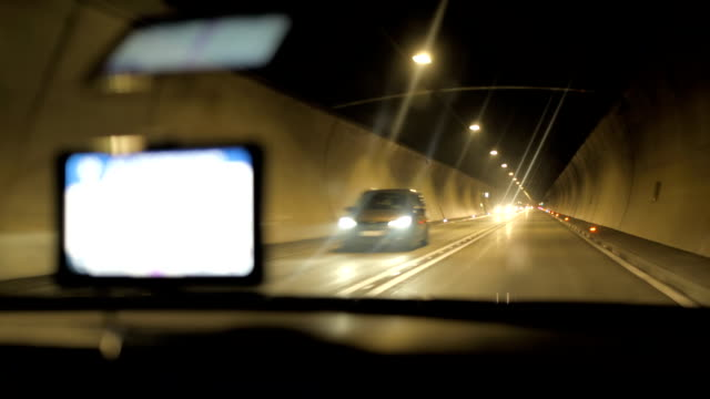 HD: Driving Through Tunnel