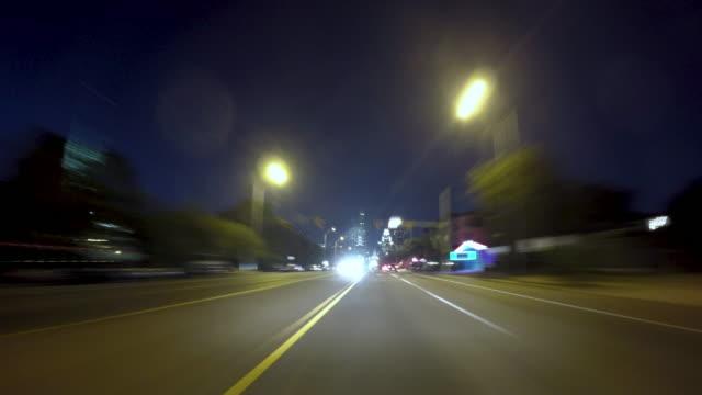 vidéos et rushes de driving timelapse austin south congress - united states congress