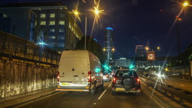 Driving POV time-lapse