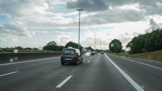 vidéos et rushes de driving pov time-lapse - véhicule utilitaire léger