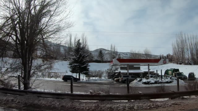 driving towards aspen, colorado - aspen tree stock videos & royalty-free footage