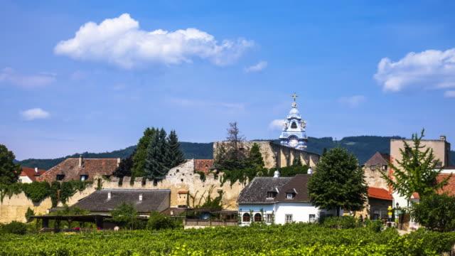 Dürnstein at Wachau in lower Austria