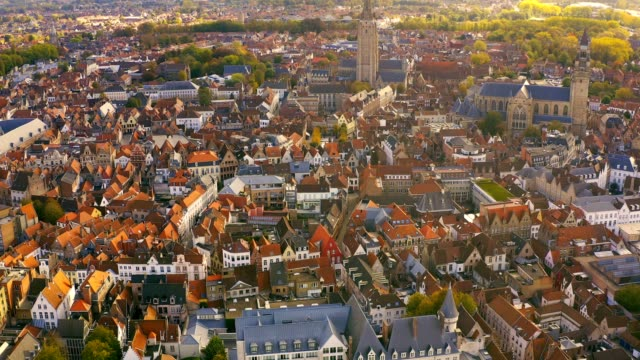drone aerial viel of grand place brussels the city's town hall, and the king's house or breadhouse. aerial downtown house building city brussels belgium - town hall stock videos & royalty-free footage