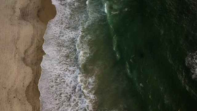 drone aerial view of the beachfront and city of tijuana, mexico - tijuana stock videos & royalty-free footage