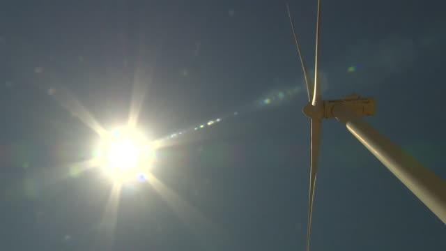 drone aerials of wind farm in jordanian desert - windmill stock videos & royalty-free footage