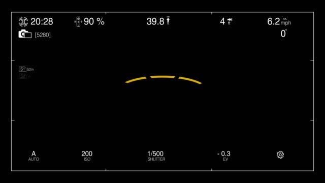 drohnenkamera sucher - digitalkamera bildschirm stock-videos und b-roll-filmmaterial