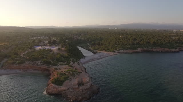 Drone Cinematography Coastline