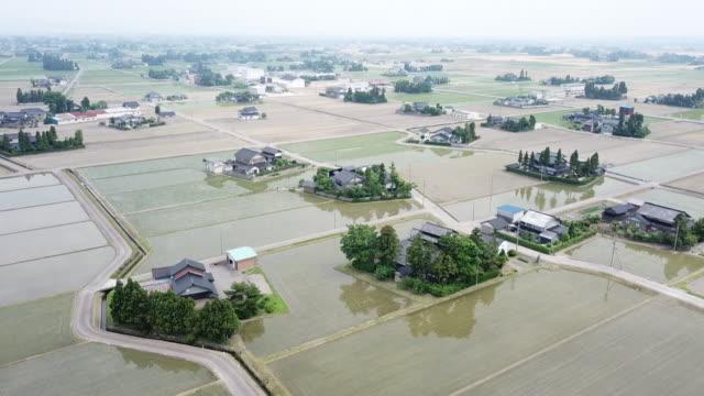 Drone: Dispersed Settlement in Toyama, Japan