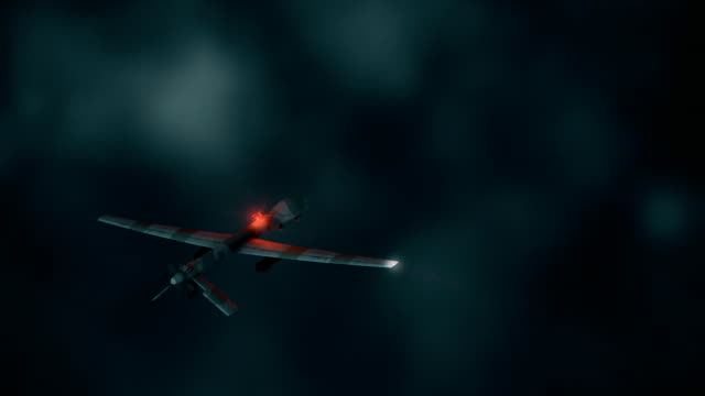 UAV bourdonnement volant