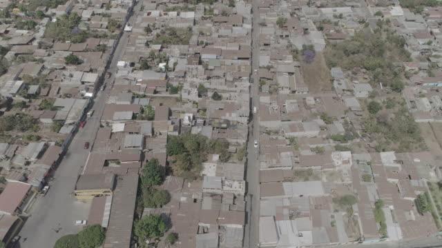 drone footage of ciudad, guatemala - guatemala stock videos & royalty-free footage