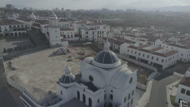 drone footage of guatemala city - guatemala stock videos & royalty-free footage