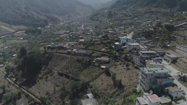 drone footage of todos santon, guatemala - guatemala stock videos & royalty-free footage