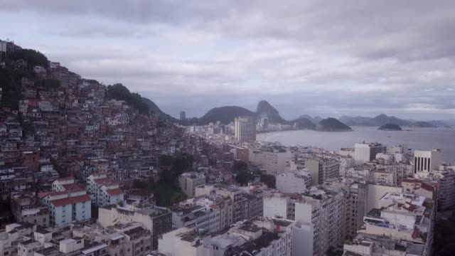 drone footage shows empty streets and beaches in rio de janeiro as latin america registers more than 20.000 covid-19 cases, with brazil top of the... - rio de janeiro stock videos & royalty-free footage