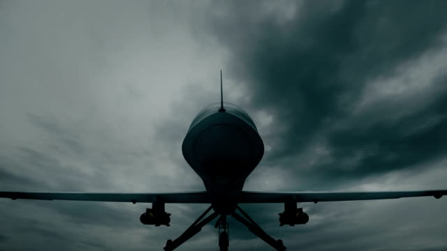 drone landed - military airplane stock videos & royalty-free footage