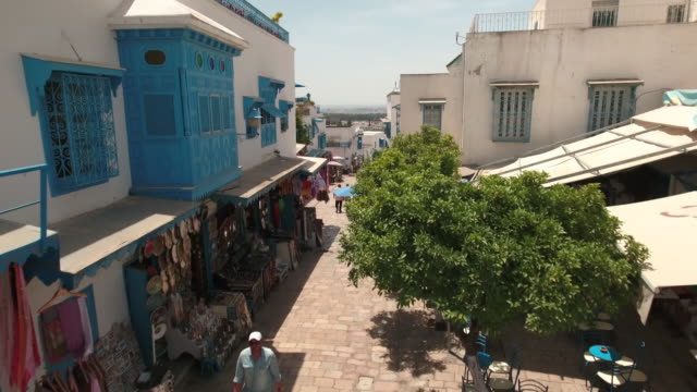 Drone Main Street, Tunis, Mosque