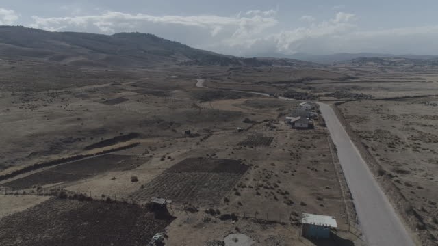 drone over arid guatemala - guatemala stock videos & royalty-free footage