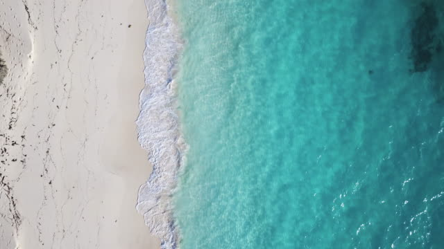 drone over exuma - bahamas stock videos & royalty-free footage