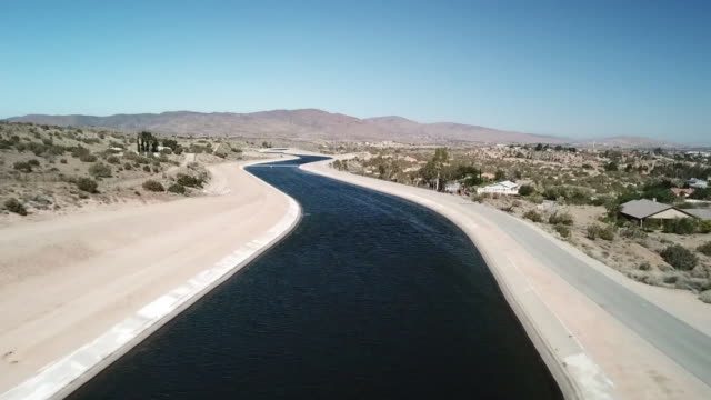 KTLA Drone POV Palmdale Aquaduct
